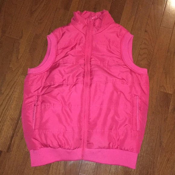 Young USA Jackets & Blazers - Pink puffer vest